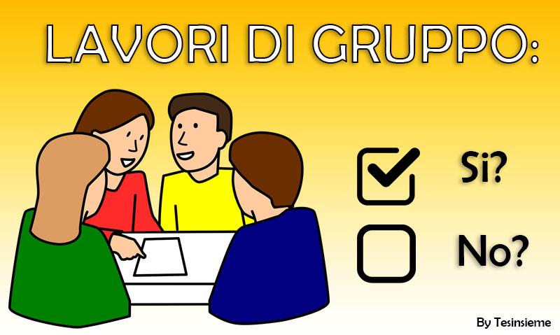 lavoro di gruppo